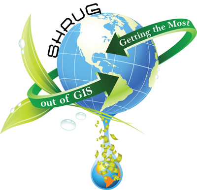 SHRUG Workshop 2010 logo - Getting the Most Out of GIS